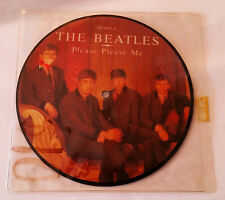 """The Beatles Please Please Me/Ask me Why Mono 7"""" 45 Picture Disc UK RP 4983"""