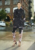 GIVENCHY 3000$ Floral Cargo Pants Trousers In Multi Color Silk
