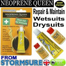 NEOPRENE QUEEN Scuba Diving Dry/ Wet Suit Repair Glue Adhesive Mend Rips Seals
