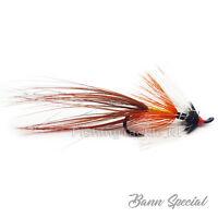 Single Hook Salmon Flies 'Bann Special' Irish Fly Fishing Flies Size 8