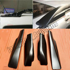 Black For Toyota RAV4 2006- 2012 Roof Rack Cover Rail End Shell Replacement 4PC