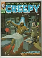 1969 Creepy Issue #30 Warren Magazine - Cover art Bill Hughes NM