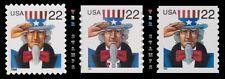 Uncle Sam 22c Complete 3259 3263 3353 Major Number Set of 3 MNH - Buy Now