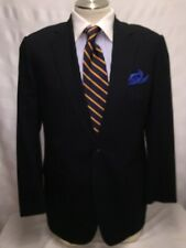 MENS BROOKS BROTHERS blue 2 Button Single Vent Suit SZ 42L