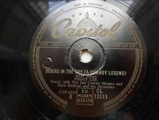 "Peggy Lee 10"" 78rpm Capitol Record No CL 13111 Riders in the Sky"