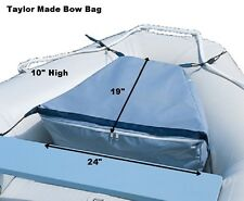 Taylor Made Inflatable Boat Bow Bag 889 Gray Storage System Water Resistant