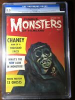 Famous Monsters of Filmland #8 (1960) - Warren Pub! - CGC 8.0 - Rare High Grade!