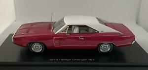 Dodge Charger R/T 1970 in panther pink 1:43 scale model from Auto World