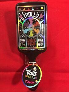 Trolls World Tour Hair Brush Conair Rock Music Is Life Music Is Energy New