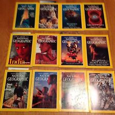 1997 National Geographic Magazine Complete Year 12 Issues
