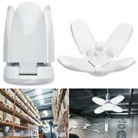 Lampe industrielle de plafond d'ampoules de garage déformable de 60W E27 pliable