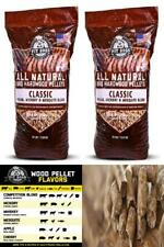 Classic BBQ Grilling Pellets Pecan/Hickory/Mesquite Blend 30 lbs Two Pack/Single