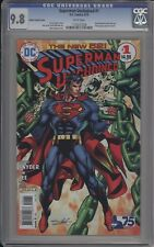 SUPERMAN UNCHAINED #1 - CGC 9.8 - NEAL ADAMS 75TH VARIANT COVER - 1133221028