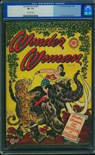 Wonder Woman #9 CGC 7.5 DC 1944 Justice League JLA Batman Superman E6 1 cm