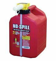 No-Spill Fast Fill Easy Pour Gas Can 2.5 Gallon CARB Approved Thumb Operated