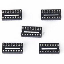 100pcs 16 Pins Dip Ic Sockets Adaptor Solder Type Socket