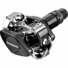 SHIMANO M505 CLIPLESS SPD MTB BIKE CYCLE PEDALS - Black