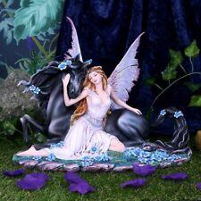 More details for spirit bond 33cm unicorn fairy companion figurine nemesis now d5124r0