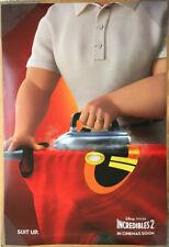 INCREDIBLES 2 MOVIE POSTER 2 Sided ORIGINAL INTL Ver B 27x40 SAMUEL L. JACKSON