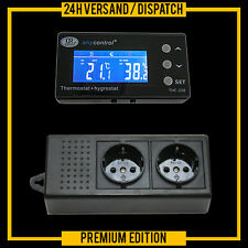 Thermostat + Hygrostat alarme Tay/Nuit Digital terrarium * écran externe * txh