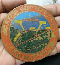1991 PAKISTAN NIZA PIR HEROES 650 MJD BN MEDAL MARK/MONOGRAM 20.29 GRAMS 81.6 MM