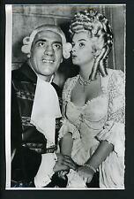 Boxer Primo Carnera & Audrey Dalton Casanova's Big Night 1953 Press Photo Boxing