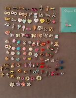 Authentic Origami Owl VALENTINES, SPRING, LOVE  Themed Charms- Retired HTF NEW