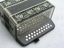 alte kleine Ziehharmonika aus Klingenthal in C/F