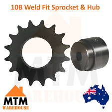 10B Weld Fit Sprocket & Hub Any Tooth and Bore Size