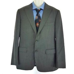 ZZegna Turkey City Men's Sport Coat Jacket Grey Wool Sz EU 48 C   AU 38 SP29