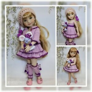 """14"""" Ruby Red Fashion Friends OUTFIT+ SHOES handmade"""