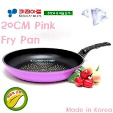 KitchenArt Non Stick 20Cm Frying Pan 22cm Wok set  Diamond Ceramic coated KOREA