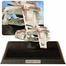 Republic Gunship Code 3 Vaisseau Rare Star Wars SEALED 1127/2500 + display case