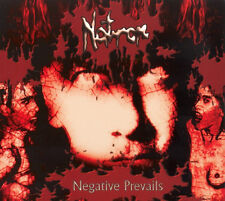 NATRON  ‎– Negative Prevails CD (Holy, 1999)  *It. Death Metal *sealed