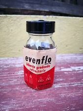 VTG 1960's MEXICO EVENFLO GLASS BABY BOTTLE NEW WITH WRAPPER & LIDS NO NIPPLE