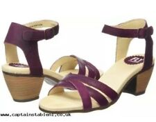 Fly London Pink Magenta Purple Ankle Strap Sandals 5 Boho Hippy Party 70s Sexy