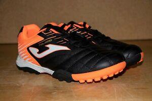 Joma Toledo 901 Turf Shoes | Kid's Sizes | Orange/Black | Brand New With Box