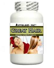 Hair Growth Support Tablets Thicker Strong Hair Thinning Prevent Splits Baldness