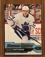 2016-17 Upper Deck Young Guns Auston Matthews Rookie #201 Toronto Maple Leafs RC