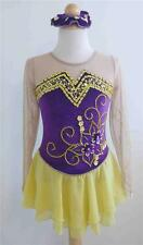 Kim Competition Ice Skating Roller Skating Dress Size 6-7