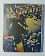 King Kong - Limited Edition 2 Disc Steelbook-  Blu-ray DVD Digital Included NEW