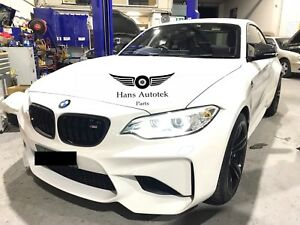 GLOSS BLACK KIDNEY GRILL FOR BMW 2-SERIES F22 M2 F87 F23 220i M235i M240i
