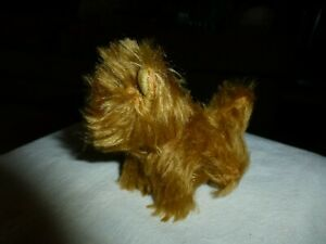 """""""STEARNSY"""" HANDMADE MOHAIR DOGGIE FROM STEARNS COUNTRY STORE, STOTTS, MO.-SWEET!"""
