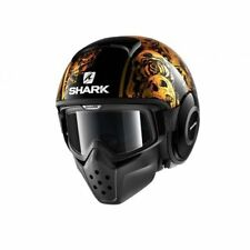 Shark Casque Moto Drak Sanctus Noir Orange Taille L