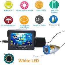 4.3 Inch 1000TVL Video Camera LED White Lights Lake Fish Cam Underwater Fishing