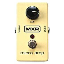 NEW MXR M133 M-133 Micro Amp Booster Boost Guitar Effect Pedal