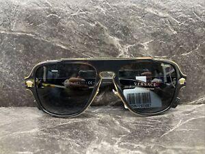 Versace Medusa Charm 2199 Polarized Sunglasses Made in Italy