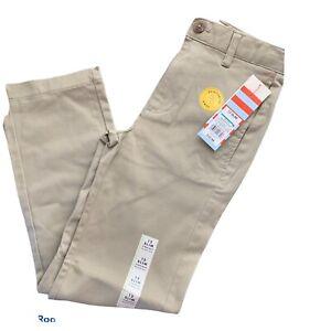 Cat and Jack Girls Khaki pants size 12 slim