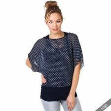 Cotton Short Sleeve Regular Size Tops & Blouses for Women