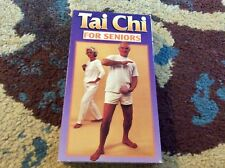 Tai Chi For Seniors VHS 1996 Very Good Condition Exercise Fitness